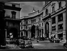 NAPOLI Galleria e Teatro S. Carlo Circa 1950 PC Real Photo Vera Foto Animata