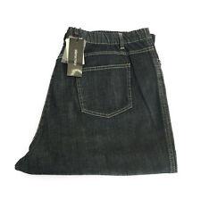 ELENA MIRO' jeans donna leggerò con elastico blu 98% cotone 2% elastan 47-56