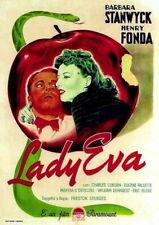 70285 The Lady Eve Barbara Stanwyck, Henry Fonda Wall Poster Print AU