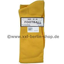 Calze-calze da calcio per sfera del piede Overknees lungo Mr.B Mister b giallo