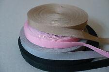 Vintage Pure Cotton fine Tape/Ribbon. 4 colours. 10mms. x 1 Metre