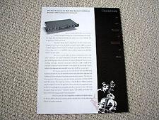 Bryston 10B-Pro electronic crossover brochure