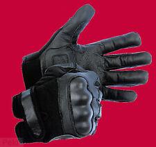 Bu SECTOR Polizei SEK Leder Handschuhe mit Protektoren und Spectra Schnittschutz