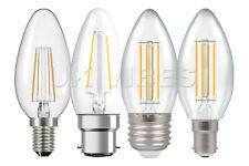 Energy Savings LED Candle Light Bulb SES ES B22 Filament Lamp 2w 4w E14 E27 B15d
