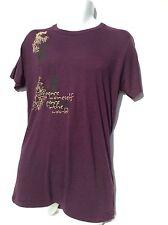 NEW American Apparel, Alternative, organic bamboo yoga Buddha Peace mens T-shirt