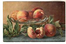 Peaches - M Billing Art Postcard c1902 / Ernest Nister