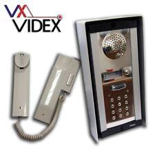 VIDEX 1-1 audio e tastierino INTERFONO (modello 8k-1s/cl)