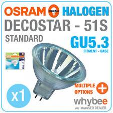 NUOVO! OSRAM DECOSTAR 51 S STANDARD ALOGENO GU5.3 MR16 Bianco Caldo Spot Light Bulbs
