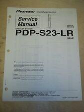 Pioneer Service Manual~PDP-S23-LR Speaker System for Plasma TV~Original