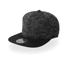 Cappellino a 6 pannelli con visiera Piatta Cappello Rapper Uomo ATLANTIS Boost