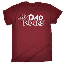 Mi Papá Rocas Para hombres Camiseta Camiseta Regalo de Cumpleaños Papá Padre Marido familia divertido