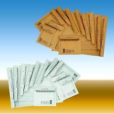 Luftpolstertaschen Versandtaschen A/1 B/2 C/3 D/4 E/5 F/6 G/7 H/8 I/9 K/10 CD
