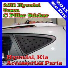 C Pillar Sports Plate Glass Mask Sticker 1set-2ea For 2011~2015+ Hyundai Tucson