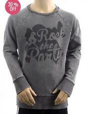 Garçons Enfants ROCK THE PARTY délavé pull hiver 9 ans 10 11 12 13 14