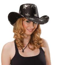 Rub - Cowboy Hut Sterne Karneval Zubehör zum Western Kostüm