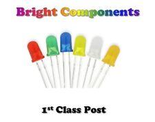 Difundido LEDs 1.8 mm/3mm/5mm Rojo, Azul, Blanco, Verde, Amarillo, Naranja - 1st Class Post