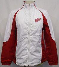 Detroit Red Wings Women S, M, L, XL Full Zip Lightweight Jacket NHL White A12TLF