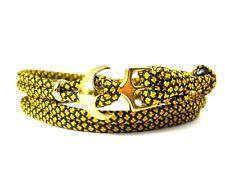 Ancla armband-paracord-verstellbar-wickelarmband- pana Rod diamantes