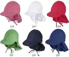 Sterntaler Schirmmütze UV Schutz Sonnenhut mit Nackenschutz und Bändel 1511410
