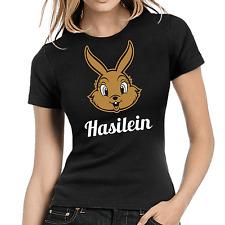 Hasilein Hase Kaninchen Rabbit Bunny Cute Comedy Girlie Damen T-Shirt Größe M
