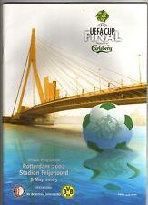 Orig.PRG   UEFA Cup  2001/02  FINALE   FEYENOORD ROTTERDAM - BORUSSIA DORTMUND !