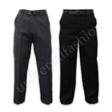 Niños Pantalones para colegio Uniforme Moderno Elástico Cinturón Informal Verano