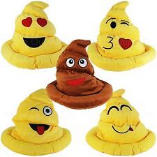 Emoji Plush Hat Emoticon Icon Soft Stuffed Novelty Toy for Adult/Men/Women/Teen