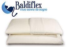 """""""Pisolo"""": Paire de mousse à mémoire Oreillers Baldiflex modèle savon hauteur 14"""