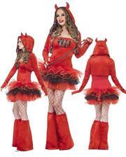 Costume Carnevale Donna travestimento Diavolo Tutu Smiffys *18613 Diavoletto