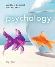 Psychology by Saundra K. Ciccarelli and J. Noland White (2010, Paperback, Revise