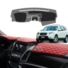 Luxury VIP Leather Dashboard Sun Cover Pad for HYUNDAI 2006 - 2009 Santa Fe CM