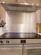 Kitchen Splash Back in alluminio spazzolato argento fornelli, piani cottura Wall-Varie Taglie