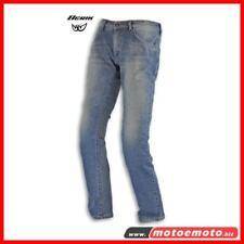 Berik Pantaloni Jeans Da Moto Bk-M03 Denim + Protezioni Made In Italy