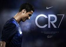 64503 Cristiano Ronaldo CR7 QUALITY Wall Print Poster CA