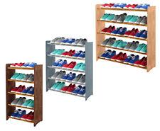 Schuhregal Schuhschrank Schuhständer Garderobe H. 81 cm HOLZ / 8 Farben / RBS-5