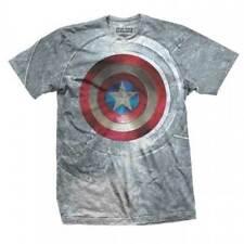 Capitán América t-shirt Marvel Comics camisa capitán américa civil era Shield