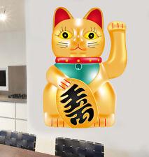 Chinese LUCKY CAT Wall Art Vinyle Autocollants charme JAPONAIS MANEKI-NEKO decal