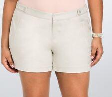 Torrid Shorts 18/22/24/26W Dressy Trouser Beige Khaki Tan Dress Boho Pants Plus