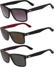 Lacoste Men's Soft Square Classic Sunglasses w/ Pique Temples - L705S