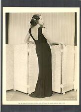 BEAUTIFUL ADRIENNE AMES GLAMOR + FASHION PHOTO - 1934 DBLWT - PARAMOUNT