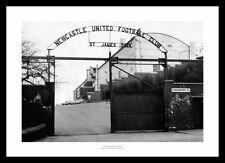Outside St James Park Stadium 1964 Newcastle United Photo Memorabilia (368)