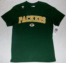 GREEN BAY PACKERS NFL TEAM APPAREL S/S T SHIRT MEN'S M L XL 2X NWT GREEN LOGO