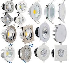 LED Einbaustrahler Einbauleuchte Einbau Spot Deckenleuchte Lampe Chrom Weiss