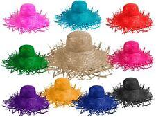 Stroh-Hut Beach Sommer Urlaub Hawaii Party-Hüte Karneval alle Farben SH-20-31