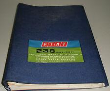 Parts CATALOG FIAT 238 Engineering/mechanics Stand 07/1970