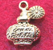10Pcs  Tibetan Silver Spray PERFUME BOTTLE Charms Pendants Drops Findings PR21
