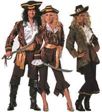 Pirat Piraten Kostüm Kleid Damen Seeräuber Freibeuter Karneval Herren Piratin