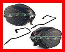 BORSE LATERALI MORBIDE T492 + TELAIO T218 HONDA CBF 600 S CBF 600 N  04-11 EA100