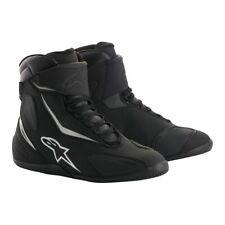 Chaussures de moto imperméables Alpinestars Fastback V2 Drystar - Noir / Blanc