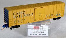 N Scale 50' Rib Side Boxcar w/o Roofwalk - Cadiz Railroad #1094 - Mtl #02500690